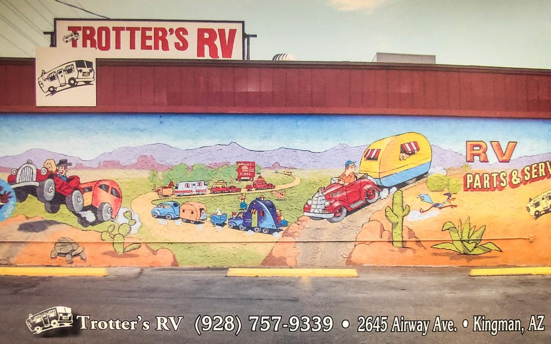 Trotter's RV Mural - Trotter's RV Sales and Service